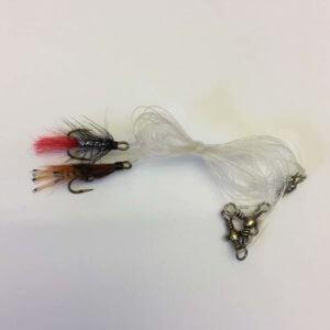 oterline til stangoter med to fluer
